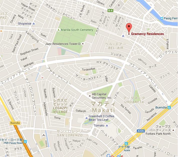 Gramacy residence_map