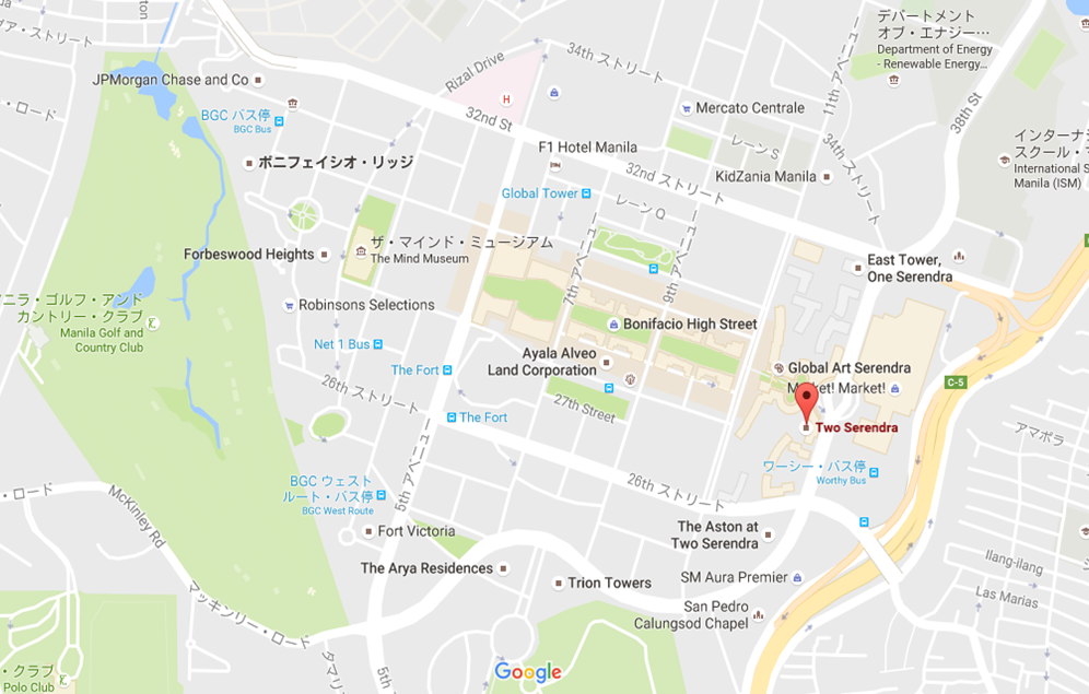two-serendra-map