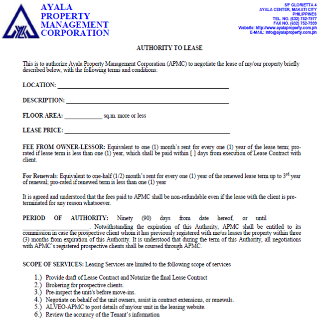 Leasing form_Ayala