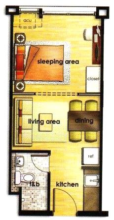 The-Linear-Makati-1-Bedroom-Unit
